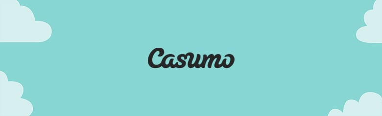 Casumo's online casino site promotional banner