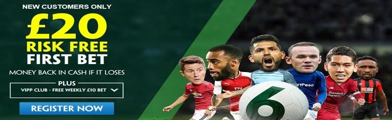£20 Risk Free Bet only at Paddy Power as a First Time Depositor
