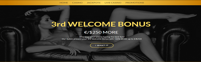 Babe Casino's Huge Welcome Offer