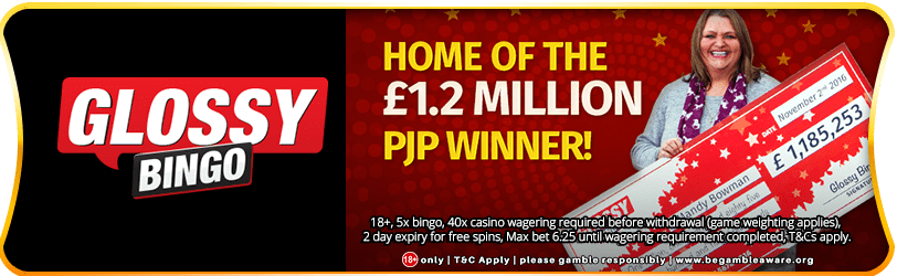 Home of the £1.2 Million Progressive Jackpot Winner