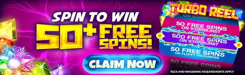 The Turbo Reel Promotion - Win Free Bonus Spins