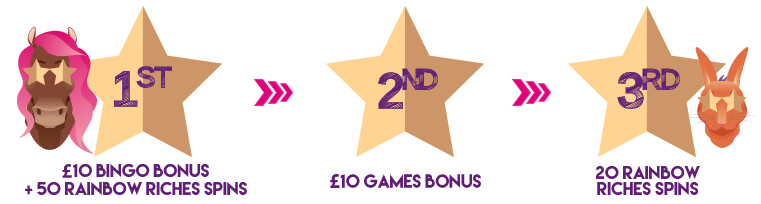 New bingo site UK - deposit bonus free spins