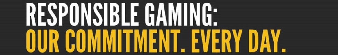 Responsible gambling banner