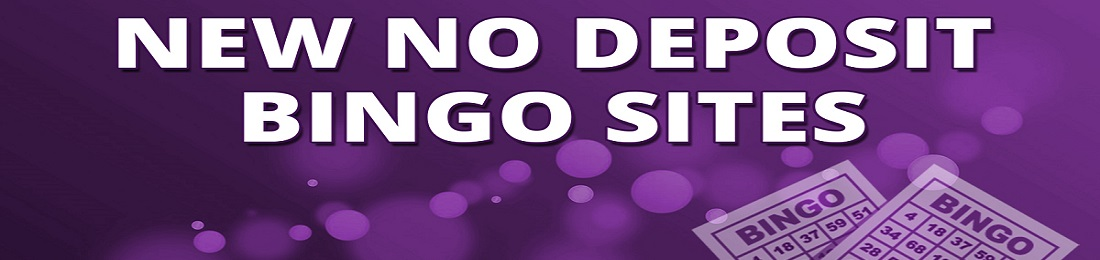 New no deposit bingo sites banner design