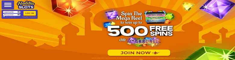 Win up to 500 Bonus Spins to use on Starburst Slot